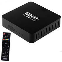Receptor Fta Go Net N1 Ultra HD com Wi-Fi/HDMI/USB Bivolt - Preto