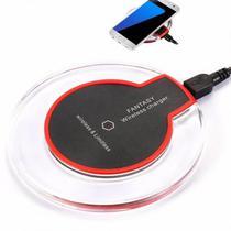 Carregador Wireless Universal Fantasy com Padrao de Carga Qi para iPhone e Android
