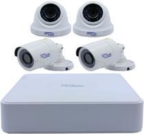 DVR Vizzion Kit 4 Canais + 4 Cameras - 720P - 0404