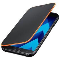 Capinha para Galaxy A7 (2017) Samsung Neon Flip Cover EF-FA720PBEGWW - Preta/Laranja