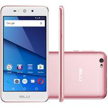 "Celular Blu Grand XL G150EQ 5.5"" Dual 8GB/1GB Ouro Rosa"