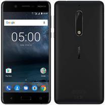 "Smartphone Nokia 5 2GB/16GB Lte Dual Sim Tela 5.2""HD Cam.13MP+8MP-Preto"