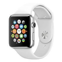 Relogio Apple Watch Sport 42MM MJ3N2LL/A A1554 Wi Fi e Bluetooth 4.0 - Branco