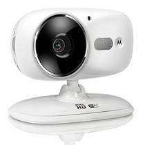 Camera IP Motorola FOCUS86 com Wi-Fi/Bivolt - Branco