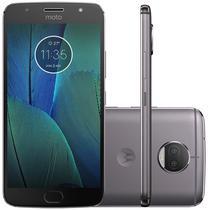 "Smartphone Motorola Moto G5S Plus XT1800 3GB+32GB Lte 1SIM 5.5""Cam.13MP/13MP+8MP-Grafite"