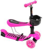 Patinete Childhood com 3 Rodas Rosa