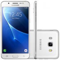 "Smartphone Samsung Galaxy J7 SM-J710FN 16GB Lte Dual Sim Tela 5.5""Cam.13MP+5MP-Branco"