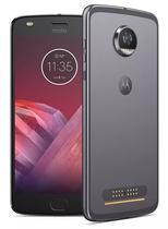 Smartphone Motorola Moto Z2 Play XT - 1750 / Dual Sim - 4G - 32GB - Tela de 5.5 - Cinza