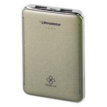 Carregador Portatil USB Roadstar RS04PB de 8000 Mah - Dourado