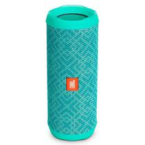 Speaker JBL Flip 4 16W com Bluetooth/Auxiliar Bateria 3000 Mah - Verde Mosaico