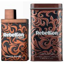 Perfume Chris Adams Rebelliion Edt 100ML - Masculino