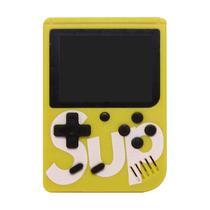 Console Sup Game Box com 400 Jogos/Av - Amarelo