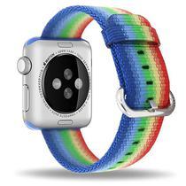 Pulseira 4LIFE de Nylon Listrado para Apple Watch 42MM - Colorido