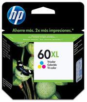 Cartucho de Tinta HP CC644WL 60XL 15.5 ML Preto