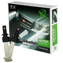 Lampada Xenon para Carro Maxer LED 9006 com 3500 Lumens