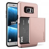 Capa para Galaxy Note 7 VRS Design Damda Glide Rose Gold