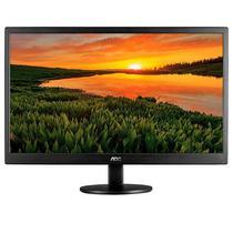 """Monitor LED AOC E970SWHEN de 18.5"""" Ultra Slim com HDMI/VGA (Bivolt) - Preto"""