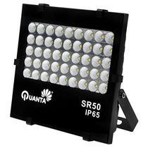 Refletor LED Quanta Sirius 50 de 45W com 4.500 Lumens Bivolt - Preto