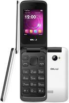 Celular Blu Diva Flex 2.4 T350 Dual Sim Cam Flash LED e Radio FM Branco