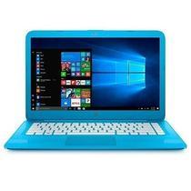 Notebook HP 14-AX010NR Cel/ 4GB/ 32SD/ 14P/ W10 Azul Claro