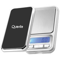 Balanca de Precisao Portatil Quanta QTBB1000G com LCD para Ate 1KG - Prata