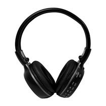 Headset MP3 Quanta QTMHP1600 Bluetooth SD 16GB Prata