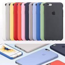 Capa Apple de Silicone para iPhone 7 e 8 - Varias Cores $