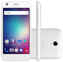 "Smartphone Blu Studio G Mini S210Q 3G Dual Sim Tela 4.5"" 8GB Cam 5MP/2MP Branco"