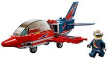 Lego City Jet de Exibicao 60177 87 Pecas