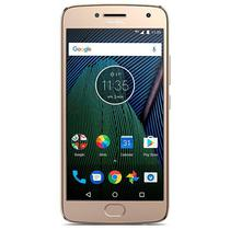 "Smartphone Motorola Moto G5 Plus XT1685 Dual Sim 32GB Tela 5.2"" 12MP/5MP Os 7.0 - Dourado"