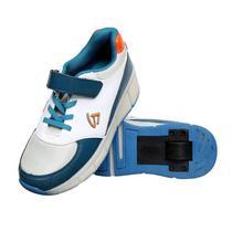 Tenis Gati LED TXL-1002 de Rodinha N26 Azul