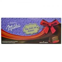 Alfajor Milka Triplo Mousse Chocolate Caixa com 6 Und