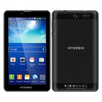 "Tablet Hyundai HDT-7427GU 8GB / 1GB Ram / Tela 7"" / 3G / Cameras 2MP + 0.3MP - Preto"