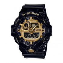 b318536c75e Relogio Casio G-Shock GA710GB-1A Masculino Preto - Dourado