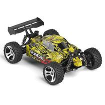 RC Car WL Toys 18401 Buggy Off Road Car 1:18 Brush Electric 22 KM/H 2.4G