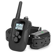 Coleira Eletronica PS1 para Adestramento de Cachorro com Controle - Preto