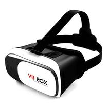 Oculos de Realidade Virtual VR Box 3D - Branco Preto 7f95dd85a3