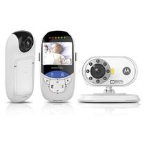 Baba Eletronica Motorola MBP27T Tela 2.4 Digital 2.4GHZ Bivolt Branco
