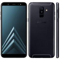 """Smartphone Samsung Galaxy A6+ SM-A605G Lte Dual Sim 6.0"""" 4GB/32GB Preto"""