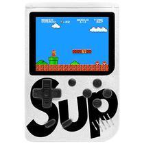 Mini Game Portatil Retro Sup Game Box 400 In 1 Plus com 400 Jogos - Branco
