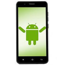 """Smartphone Pass Mobile P5001 Dual Sim 4GB Tela 5"""" 5MP/0.3MP 3G Os 5.1 - Preto"""