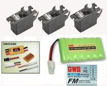 FLY Pack GWS Naro X3/ R6N/ ICS480/ Bat. AA 9.6V 1600MA GWS-668B