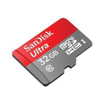 Mem SD 32GB Sandisk Micro Ultra 80MB C10