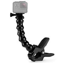 Suporte Garra Jaws para Camera de Acao Quanta QTSCA615 com Extensor - Preto