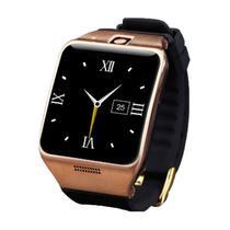 Relogio Smartwatch LG128 Preto com Dourado