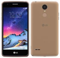 """Smartphone LG K8 X240DSF 16GB Lte Dual Sim Tela 5.0"""" Cam.13MP/5MP - Preto/Dourado"""