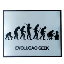 Placa Evolucao Geek