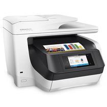 Impressora Multifuncional HP Officejet Pro 8720 4 Em 1 Wi-Fi Bivolt - Branco/Preto