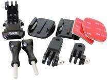 Acessorio para Camera Sport Quanta QTSCA-525 - Kit Suporte para Capacetes