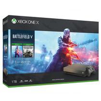 Console Xbox One X 1TB com Jogo Battlefield 5 - Gold
